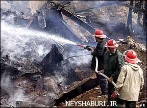 انفجار قطار نیشابور
